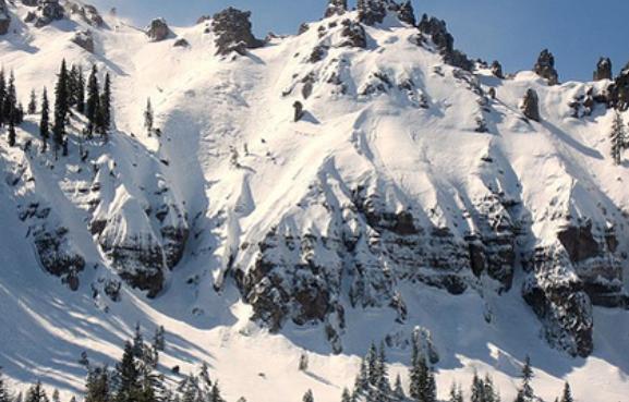 Lugares donde nieva en Estados Unidos